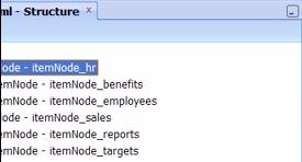 Ordering XML nodes to create sub-menu items