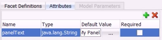 Creating ADF page attributes