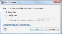 Jersey File Operation dialog
