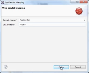 Add Servlet Mapping dialog